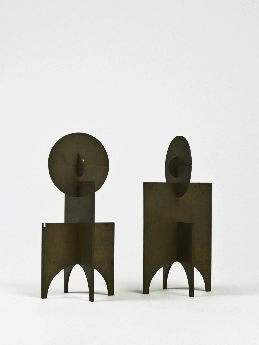«Steckfigur», 1966 (Messing, Multiple, 12,8 x 6 x 6 cm, WG 66 – S 1)